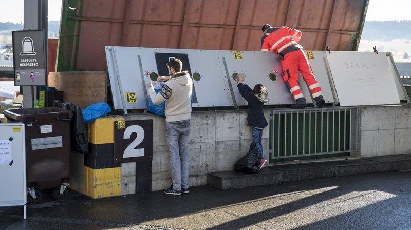 La déchetterie du Crêt-du-Locle a fermé temporairement après une explosion