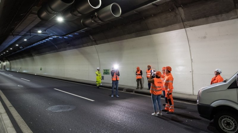 La prochaine fermeture permettra d'effectuer des finitions, faisant suite au gros chantier en cours depuis plusieurs années (ici, un reportage lors d'une opération sur le nouveau système de gestion et de ventilation, en octobre 2019).