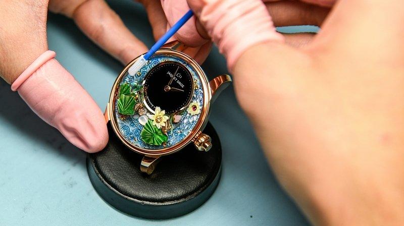 La baisse des exportations horlogères perd de l'intensité en juillet