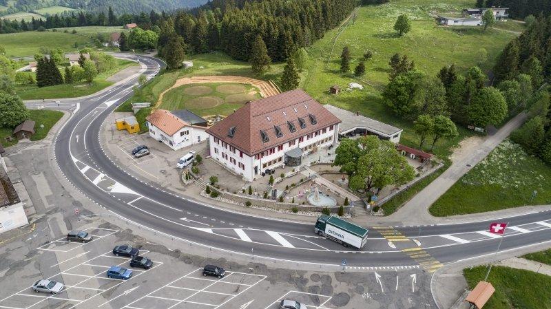 Accrochage à La Vue-des-Alpes