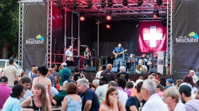 1erAoût: fêtes de quartier et discours télévisés à Neuchâtel