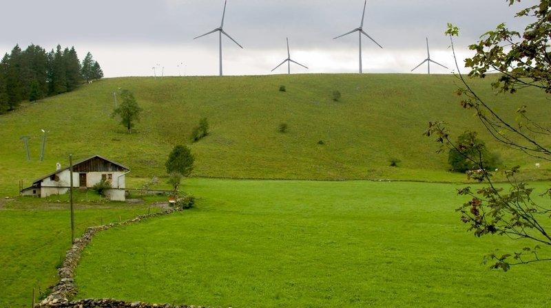 Projet éolien du Crêt-Meuron: la pétition sera dotée de 9 000 signatures