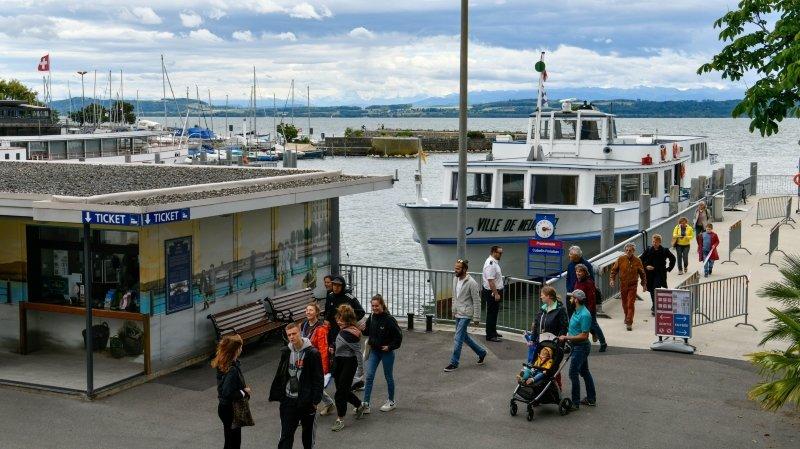 Neuchâtel: l'offre de navigation réduite dès fin août