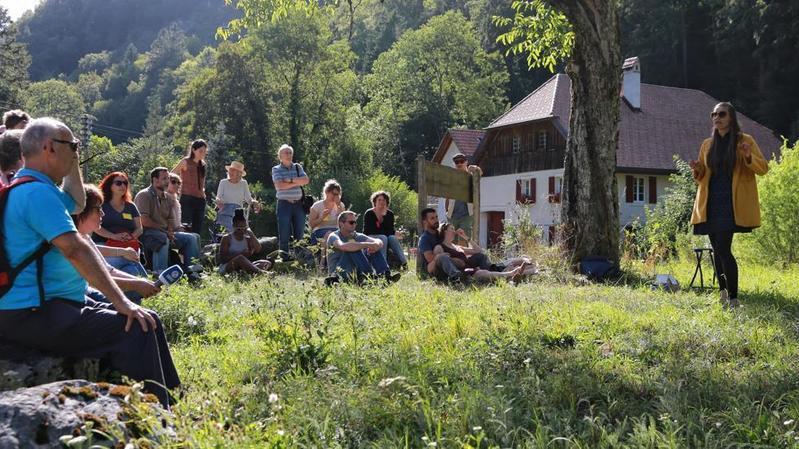 Une expérience culturelle improbable à Champ-du-Moulin