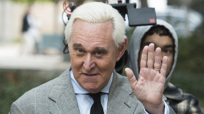 Roger Stone a été reconnu coupable en novembre de mensonges au Congrès et de subordination de témoin (archives).