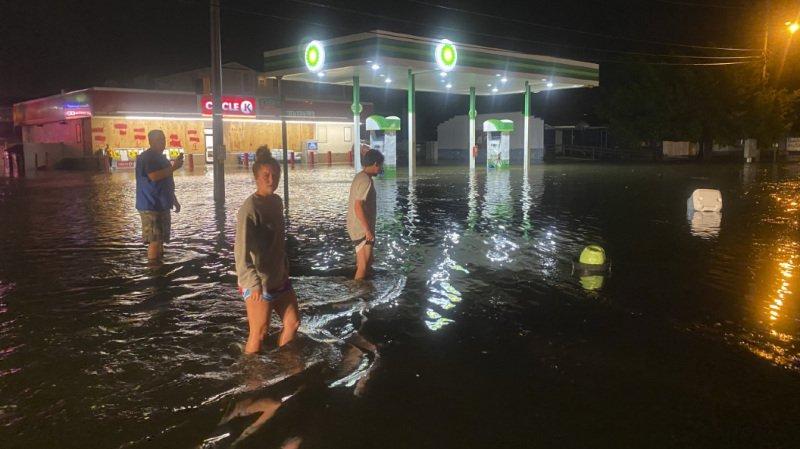 Etats-Unis: la tempête Isaias remonte la côte est américaine