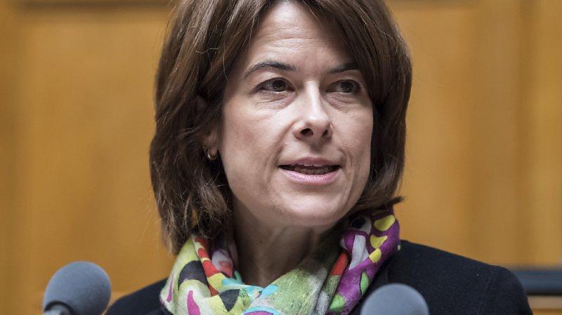Petra Gössi a exhorté ses troupes à défendre leurs valeurs (archives).