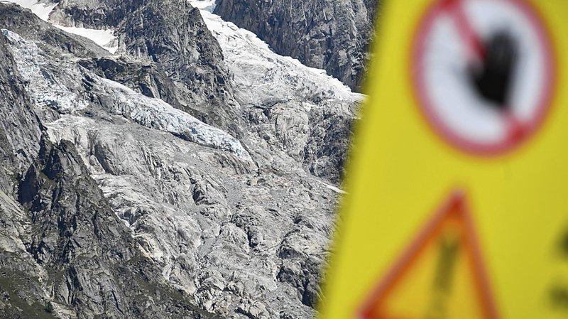 Mont Blanc – Courmayeur: fin de l'alerte au glacier italien de Planpincieux