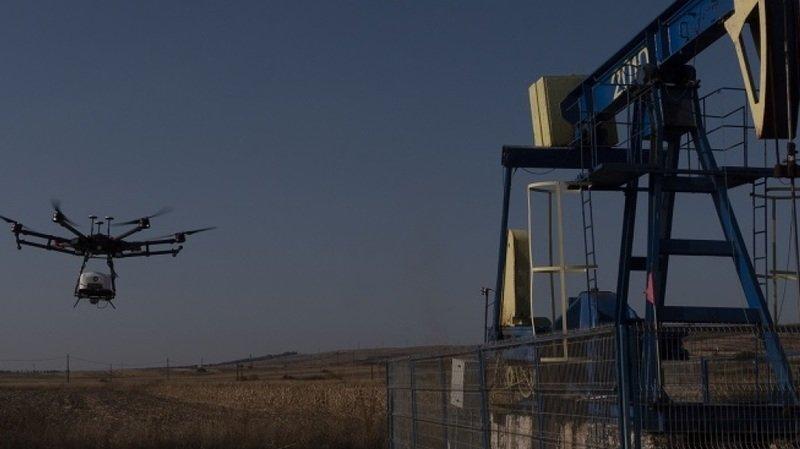 Climat: un drone pour détecter les fuites de méthane