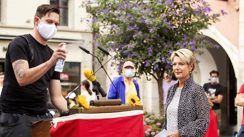 Fête nationale: Karin Keller-Sutter loue la capacité de compromis de la Suisse
