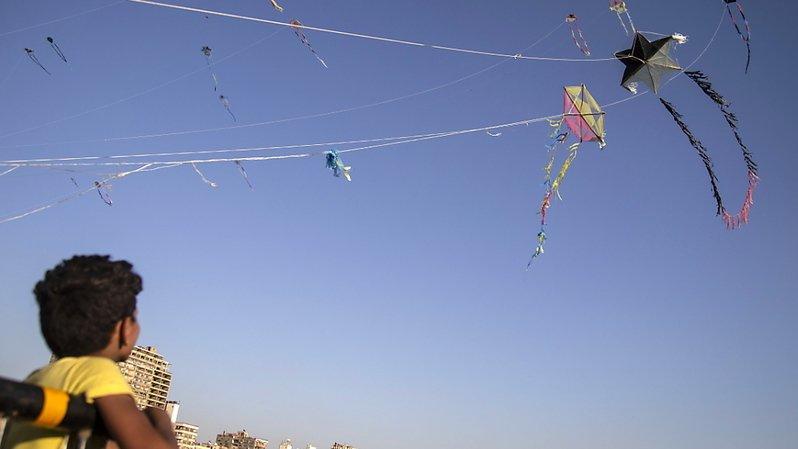 Des cerfs-volants confisqués en Egypte «pour raison de sécurité»