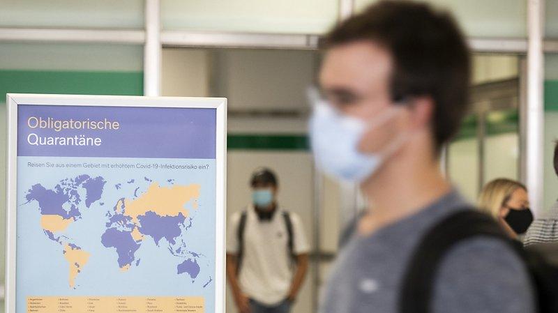 Les personnes qui arrivent de l'un des 42 pays à risque doivent se mettre en quarantaine (archives).
