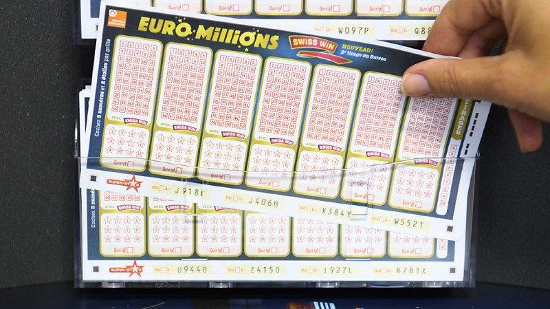Euro Millions: un joueur remporte 53 millions de francs