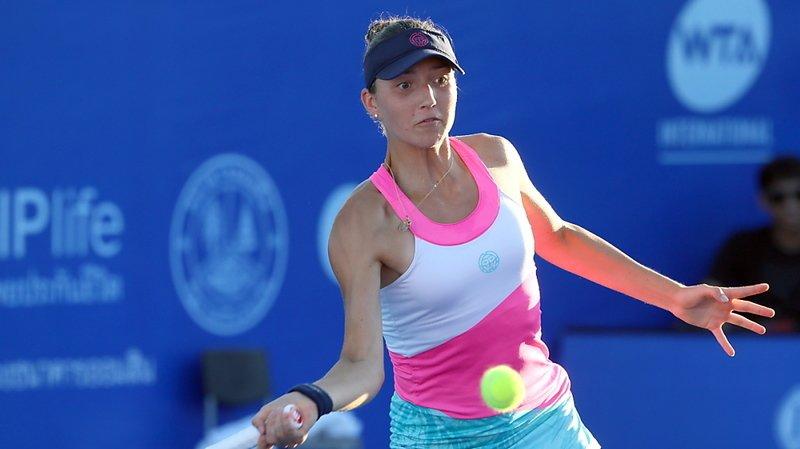 Leonie Küng a subi une défaite rageante en 8e de finale à Prague.