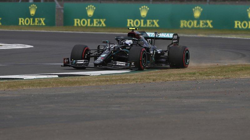 GP des 70 ans de la Formule 1 en Grande-Bretagne: Bottas bat Hamilton pour la pole