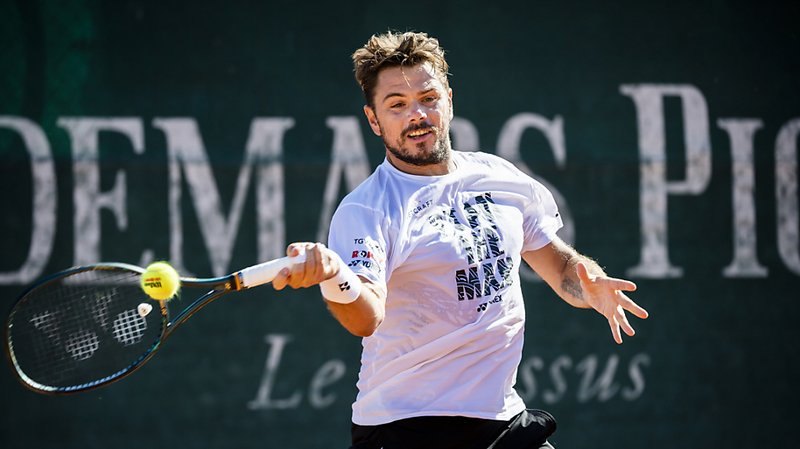 Tennis: Stan Wawrinka s'est hissé en quart de finale à Prague