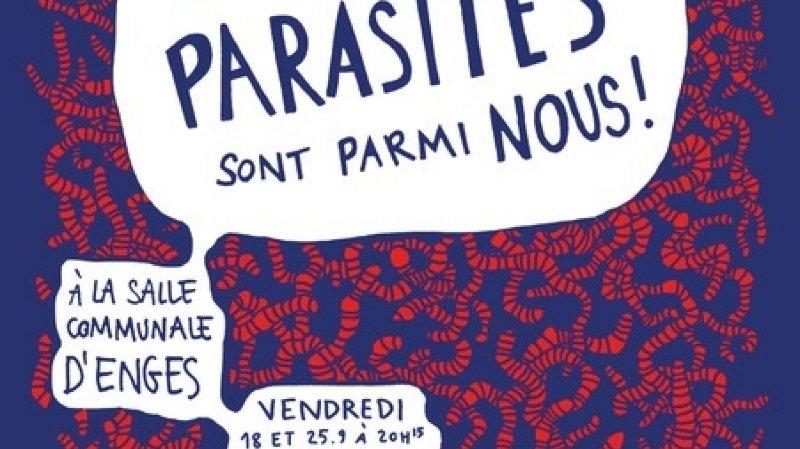 Les parasites sont parmi nous !