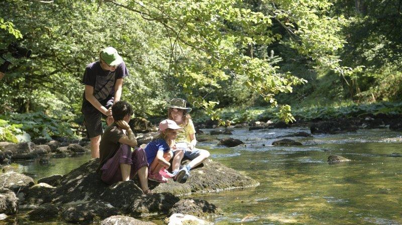Champ-du-Moulin: Pêche aux invertébrés pour les enfants de Pro Natura