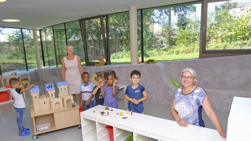 Neuchâtel: de nouveaux locaux pour l'accueil parascolaire Le Cerf-Volant à Serrières