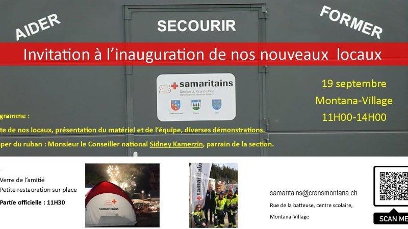 Inauguration du nouveau local des samaritains