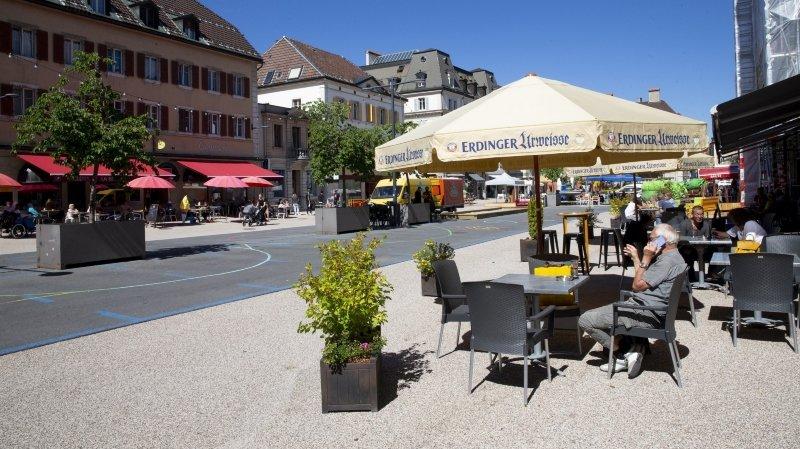 La Chaux-de-Fonds: la place du Marché sera piétonne en 2024