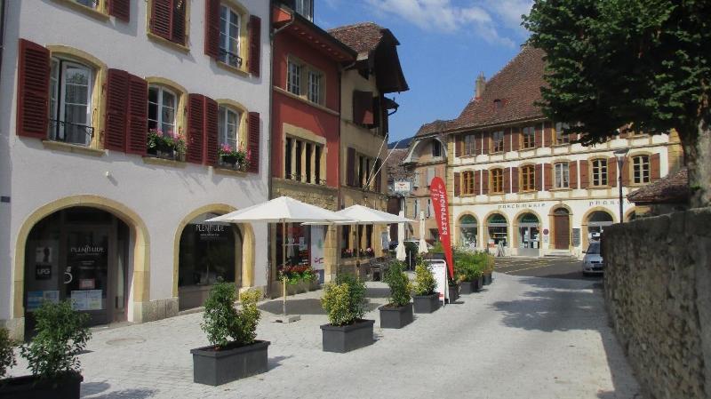 Les terrasses au centre de Saint-Blaise accueilleront des stands les mardis et jeudis.