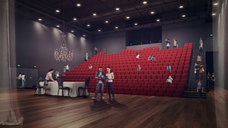 Crédit de quatre millions de francs demandé pour le Théâtre du Jura