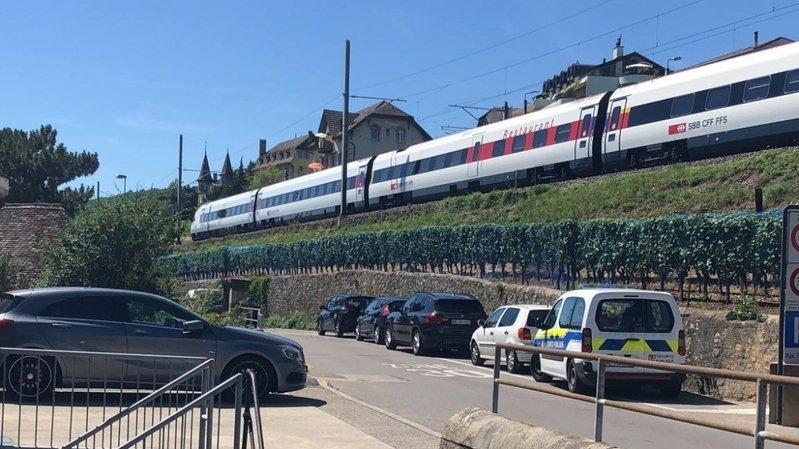 Les trains ne circulaient plus entre Neuchâtel et Cornaux