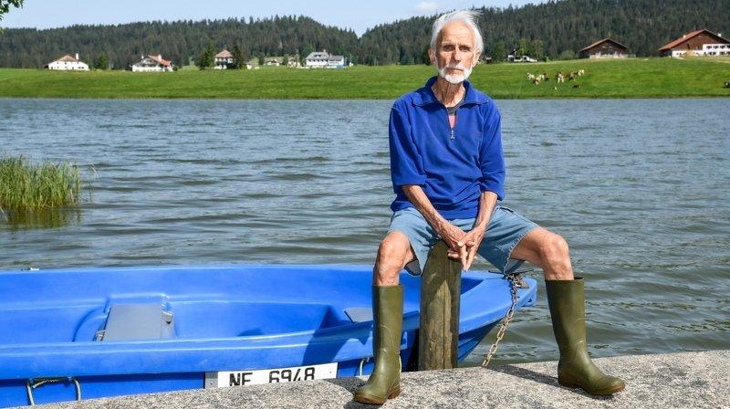 Jean-Daniel Paquier, le trappeur du lac des Taillères