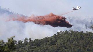 France: violent incendie sur le littoral près de Marseille