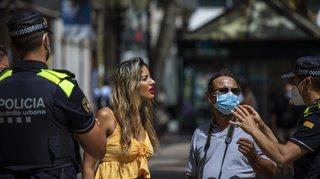 Coronavirus: la justice espagnole suspend le reconfinement de plus de 200'000 personnes en Catalogne