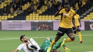 Football: Servette craque face à Young Boys qui reprend la tête du championnat