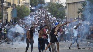 Liban: nouveaux heurts entre forces de l'ordre et manifestants à Beyrouth