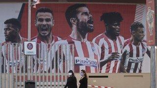 Ligue des champions: deux membres de l'Atlético Madrid positifs au COVID-19