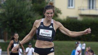 Athlétisme: Lea Sprunger battue à La Chaux-de-Fonds, mais satisfaite