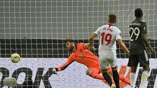 Football: le FC Séville élimine Manchester United de la Ligue Europa