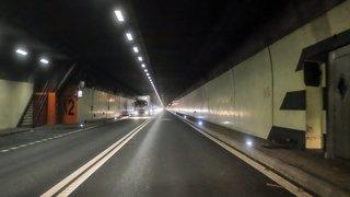 Le tunnel de La Vue-des-Alpes fermé à cause d'un véhicule en panne