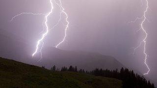 De violents orages en Suisse centrale