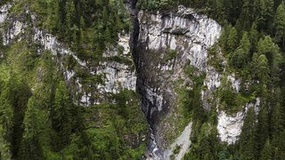 Accident de canyoning près de Vättis (SG): recherches pour retrouver le disparu infructueuses jusqu'ici