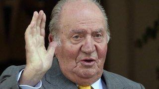 Espagne: l'ex-roi Juan Carlos, soupçonné de corruption, quitte le pays