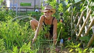 La Chaux-de-Fonds: quand la famille s'évade au jardin communautaire