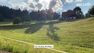 ArcInfo a suivi Les Fées du Val-de-Travers