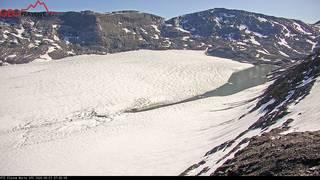 Le lac des Faverges sur le glacier de la Plaine Morte se vide, pas de dégâts dans le Simmental