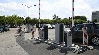 Neuchâtel: des barrières au lieu des horodateurs au parking des Jeunes-Rives