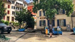 Neuchâtel: la place du Tertre devient piétonne… pour 60 jours