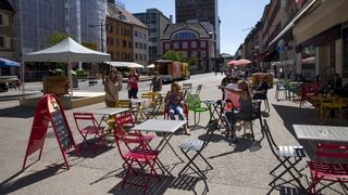 La Chaux-de-Fonds: zone d'attraction piétonne au cœur de la ville