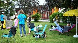 Le Locle: ces jeunes vont faire bouger la place des Jeanneret