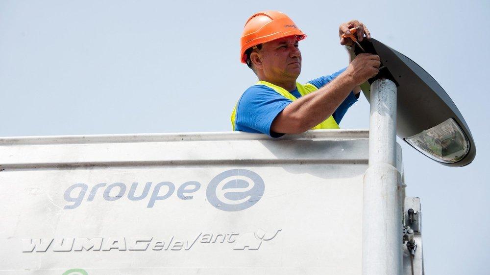 L'entreprise Groupe E devrait accueillir une septantaine de collaborateurs dans son futur centre logistique, à Malvilliers.