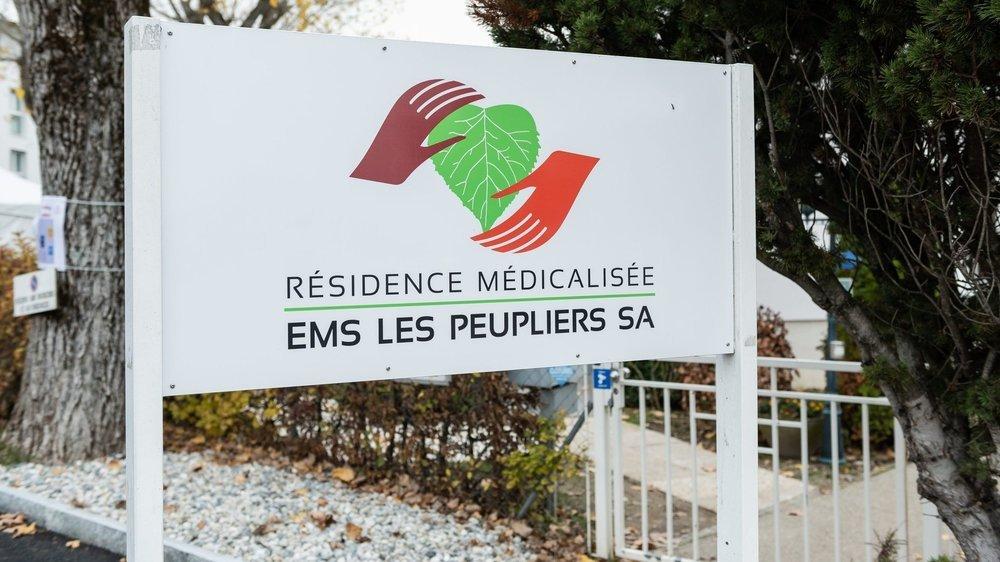 Trois résidents des Peupliers avait été touchés par la maladie au printemps.
