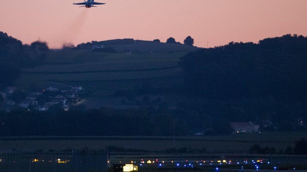Le 27 septembre, les Suisses décideront s'ils acceptent ou non d'investir six milliards de francs pour remplacer les F/A-18, ici au décollage à Payerne.